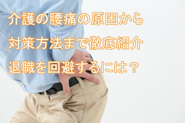 介護_腰痛_退職_対策_回避方法