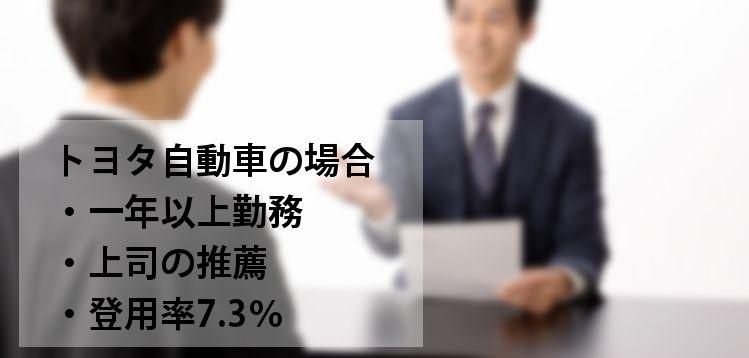 期間工の正社員登用率と登用試験